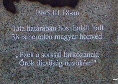 Tata Környei úti temető II. világháborús emlék 2014.12.21. küldő-Méri (3)
