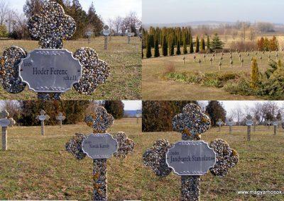 Tata Kocsi úti új temető világháborús katonasírok 2013.03.03. küldő-Méri (2)
