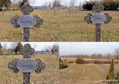 Tata Kocsi úti új temető világháborús katonasírok 2013.03.03. küldő-Méri (3)