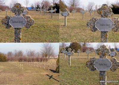Tata Kocsi úti új temető világháborús katonasírok 2013.03.03. küldő-Méri (4)