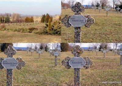 Tata Kocsi úti új temető világháborús katonasírok 2013.03.03. küldő-Méri (5)