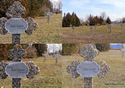 Tata Kocsi úti új temető világháborús katonasírok 2013.03.03. küldő-Méri (6)