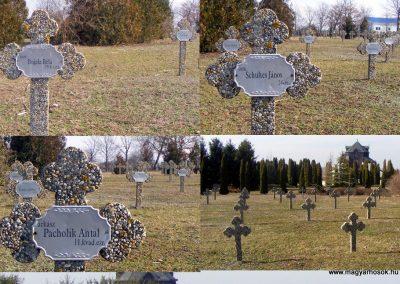 Tata Kocsi úti új temető világháborús katonasírok 2013.03.03. küldő-Méri (7)