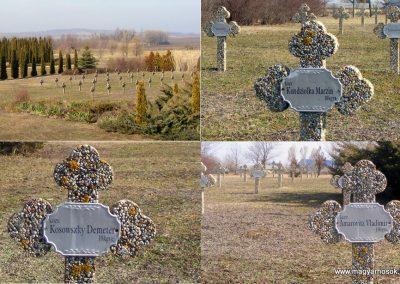 Tata Kocsi úti új temető világháborús katonasírok 2013.03.03. küldő-Méri (9)