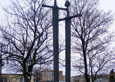 Tatabánya-Bánhida II. világháborús emlékmű 2013.01.21. küldő-Méri