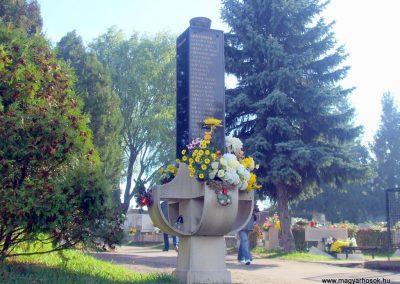 II. világháborús, Tatabánya, VII-es telepi temető