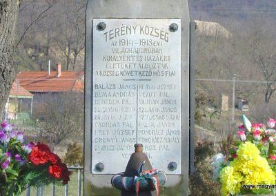Terény világháborús emlékmű 2008.02.12. küldő-Pfaff László, Rétság (3)