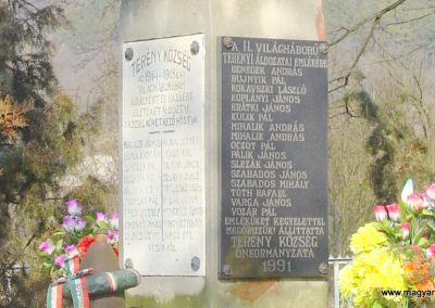Terény világháborús emlékmű 2008.02.12. küldő-Pfaff László, Rétság (6)