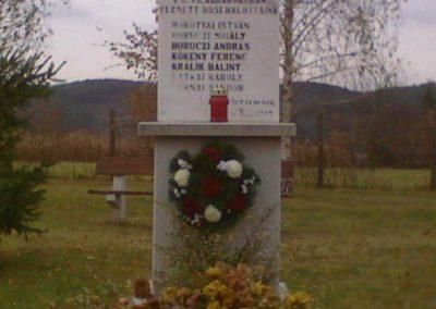 Terpes világháborús emlékmű 2006.11.05. küldő-kalyhas