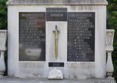 Teskánd világháborús emlékmű 2008.05.25.küldő-HunMi (1)