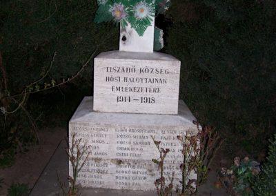 Tiszabő világháborús emlékmű 2009.04.08. küldő-miki (1)