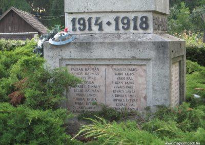 Tiszabura Hősök parkja-I.vh emlékmű 2008.08.21. küldő-Kályhás (4)