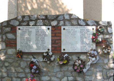 Tiszadorogma világháborús emlékmű 2008.04.22.küldő-Kályhás (1)