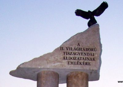 Tiszagyenda II.vh emlékmű 2009.04.08. küldő-miki (2)