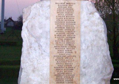 Tiszagyenda II.vh emlékmű 2009.04.08. küldő-miki (3)