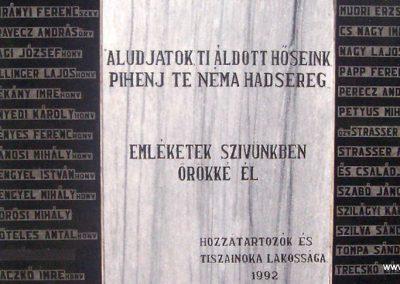 Tiszainoka II.vh emlékmű 2009.05.07. küldő-miki (2)