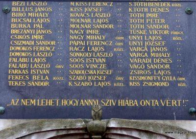 Tiszakécske - Ókécske I. világháborús emlékmű 2015.03.07. küldő-belamiki (3)