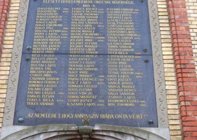 Tiszakécske - Ókécske I. világháborús emlékmű 2015.03.07. küldő-belamiki