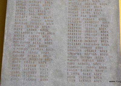 Tiszakécske - Újkécske I. világháborús emlékmű 2015.03.07. küldő-belamiki (10)