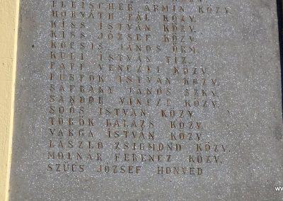 Tiszakécske - Újkécske I. világháborús emlékmű 2015.03.07. küldő-belamiki (13)