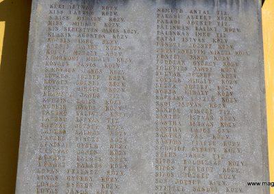 Tiszakécske - Újkécske I. világháborús emlékmű 2015.03.07. küldő-belamiki (9)