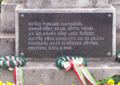 Tiszakürt I.vh emlékmű 2009.05.15. küldő-miki (1)