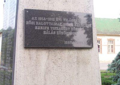 Tiszakürt I.vh emlékmű 2009.05.15. küldő-miki (3)
