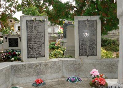 Tiszakarád II. világháborús emlékmű 2013.09.25. küldő-megtorló (2)