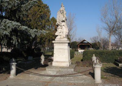Tiszanána I.vh emlékmű 2008.02.25. küldő-kalyhas