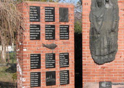 Tiszanána II.vh emlékmű 2008.02.25. küldő-kalyhas (1)