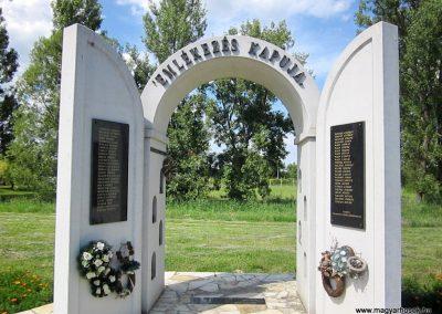 Tiszanagyfalu II. világháborús emlékmű 2014.06.23. küldő-kalyhas (2)