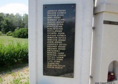 Tiszanagyfalu II. világháborús emlékmű 2014.06.23. küldő-kalyhas (5)