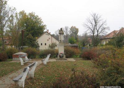 Tiszasüly I.vh emlékmű 2008.10.23. küldő-Kályhás