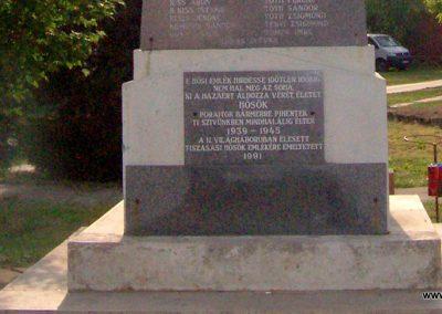Tiszasas világháborús emlékmű 2009.05.15. küldő-miki (8)