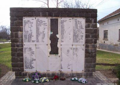 Tolnanémedi világháborús emlékmű 2009.03.22.küldő-miki