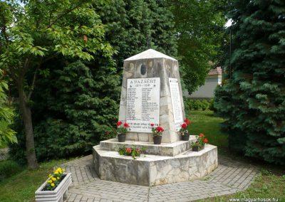Tormafölde világháborús emlékmű 2009.05.23.küldő-Sümec