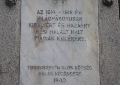 Tornyiszentmiklós I.vh emlékmű 2009.03.06.küldő-Sümec (3)