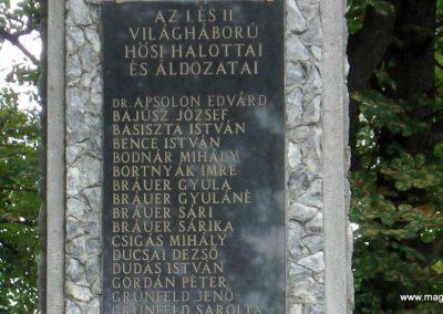 Tornyosnémeti hősi emlékmű 2012.07.19. küldő-megtorló (3)