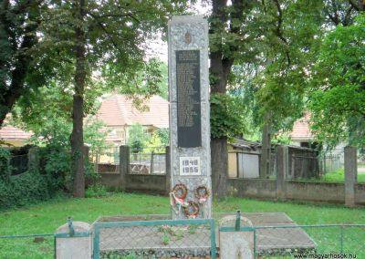Tornyosnémeti hősi emlékmű 2012.07.19. küldő-megtorló