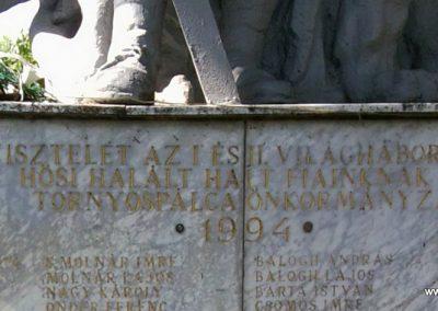 Tornyospálca világháborús emlékmű 2014.05.28. küldő-Eszterhai Zsuzsa (3)