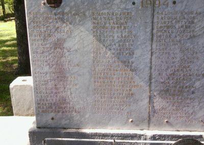 Tornyospálca világháborús emlékmű 2014.05.28. küldő-Eszterhai Zsuzsa (4)