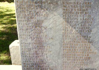 Tornyospálca világháborús emlékmű 2014.05.28. küldő-Eszterhai Zsuzsa (5)