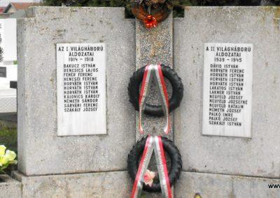 Torony világháborús emlékmű 2014.11.18. küldő-gyurkusz (1)