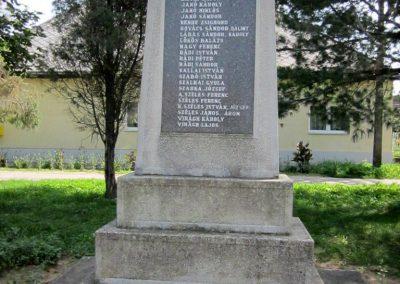 Tunyogmatolcs - Matolcs világháborús emlékmű 2014.08.04. küldő-kalyhas (2)