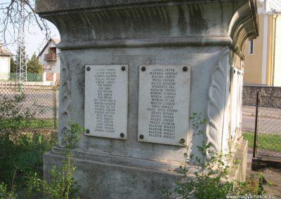 Tura I.vh emlékmű 2009.04.10. küldő-kalyhas (5)