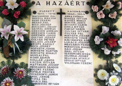 Vácrátót világháborús emléktábla 2012.04.20. küldő-kalyhas (2)