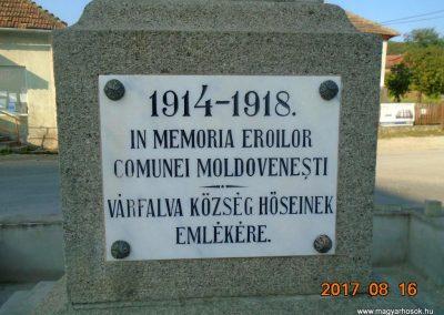 Várfalva világháborús emlékmű 2017.08.16. küldő-Fehér Mónika (2)