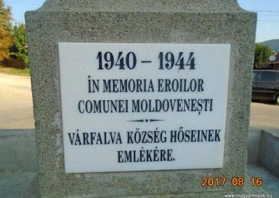 Várfalva világháborús emlékmű 2017.08.16. küldő-Fehér Mónika (6)