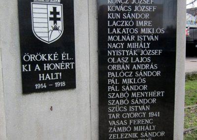 Vásárosnamény I. világháborús emlékmű 2014.02.24. küldő-kalyhas (3)