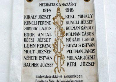 Vászoly világháborús hősök emlékhelye 2010.05.15. küldő-Sümec (1)
